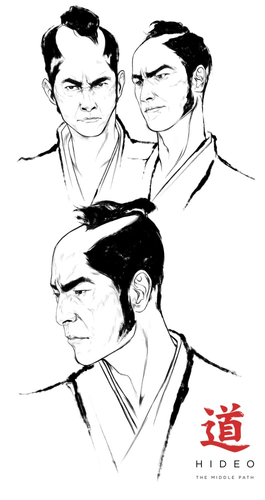 The Middle Path - Hideo sketch